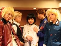 7/18(土)・19(日) ヘタリア喫茶開催@男装コスプレ喫茶 Good Rock-BOYS:STYLE-
