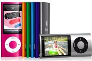 ビデオが撮れる、iPod nano