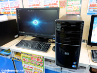 HP Pavilion Desktop PC p6290jp Core2Quad+20Wモニターセットモデル