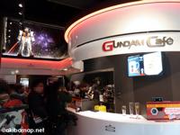 GUNDAM Cafe (ガンダム・カフェ) 内覧会レポート