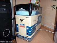 「電車PCケース」初お目見え@リンクス感謝祭2010